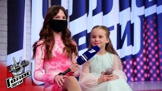 Анна Волкова. Интервью сфиналисткой - За кадром - Голос.Дети - Сезон 8