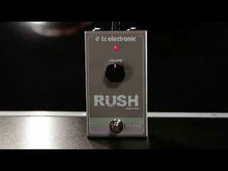 Tore Mogensen Demos the TC Electronic Rush Booster Effect Pedal