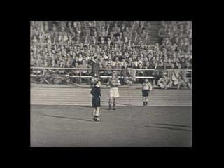 1956 West Germany - USSR. Full Match (part 1 of 2) / ФРГ - СССР. Полный матч (1 ч. из 2).