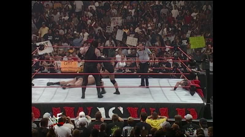 WWF Raw Is War 12 07 1999 Kane Undertaker vs Big Show Steve Austin