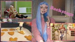 [backstage] Как снимали видео Molly Moon - Здравствуй, Мику, Новый Год!