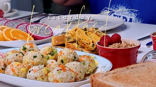 Cooking ASMR Saturday Morning Breakfast | Simply Mamá Cooks