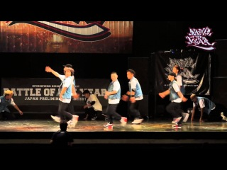 | << BATTLE OF THE YEAR 2013 JAPAN【Body Carnival】 | <<