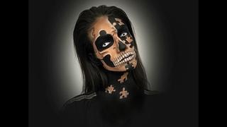 Puzzle Skull┃Halloween┃Makeup Tutorial