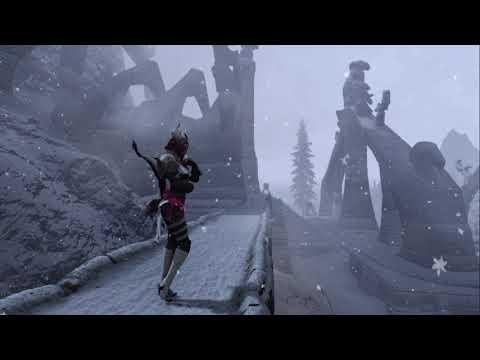 The Elder Scrolls V Skyrim S E прохождение Эльфийская другая история 4 серия. Первая смерть башня