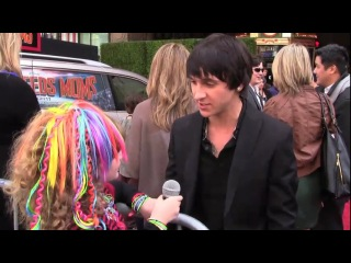 MITCHEL MUSSO Talks to PIPER REESE about KISSING EMILY OSMENT