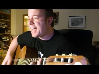 The Offspring - Slim Pickens Does the Right Thing and Rides the Bomb to Hell (  Acoustic Cover!)