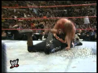 Triple H  Best  Pedigree Ever on Mick Foley
