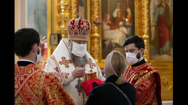 Слово на Крещение Господне В храмах теперь служат одни брюнеты да еще в масках Ах карнавал Я не поэт и не брюнет Грешны Киприан