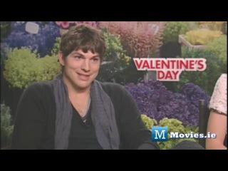 Jennifer Garner and Ashton Kutcher - интервью о фильме День Святого Валентина (2010)