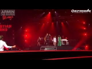 Armin van Buuren feat Justine Suissa Burned With Desire live performance by Bagga Bownz Benno de Goeij Ana Criado Christi