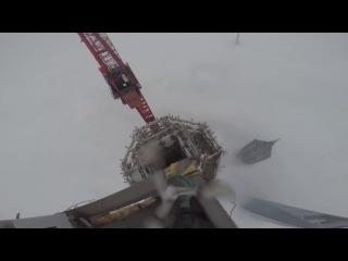 Shanghai Tower 650 meters. Виталий Раскалов и Вадим Махоров без страховки покорили 650-метровую Шанхайскую башню