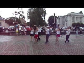 Танец-поздравление на свадьбу (вальс+nossa)