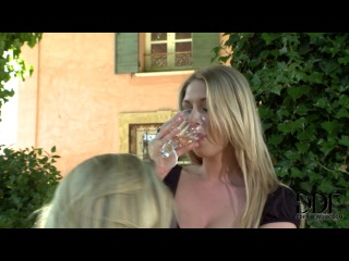 """Danielle Maye and Lexi Lowe """"Learning on her knees"""""""