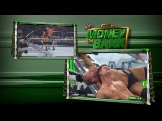 Damien Sandow vs. Dean Ambrose vs. Fandango vs. Antonio Cesaro vs. Jack Swagger vs. Wade Barrett vs. Cody Rhodes Money in the Bank 2013