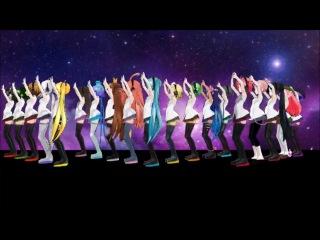 Vocaloid-mmd pv / megurine luka, suzune ring, nami utaune, momo momone, merli, megpoid gumi, aoki lapis, imoito defoko (uta utane), miku hatsune, kasane teto, akita neru, yowane haku, kagamine rin, sakine meiko, galaco, kaihatsu miki– galaxias!