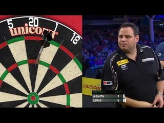 Andy Smith vs Adrian Lewis (Players Championship Finals 2014 / Round 2)