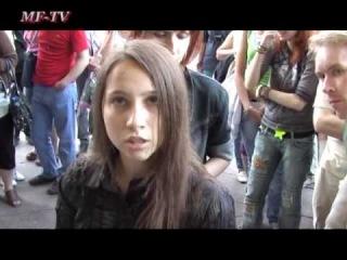 MF-TV Reportage: Russian concerts of Mylene Farmer (Part 2).