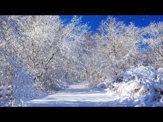 Зимняя волшебная сказка очень красивое видео и нежная музыка