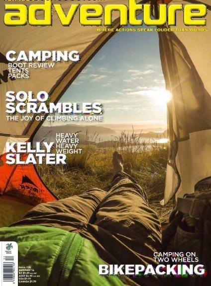 Adventure Magazine October November 2016