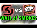 CS:GO Tactic: SK Gaming vs Virtus.pro - 5 Smokes B-Site Takeover on COBBLESTONE @ DH Las Vegas GF