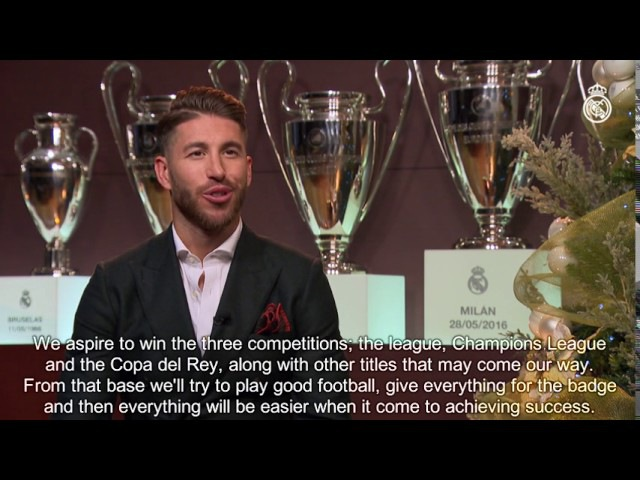 New Year messages from Florentino Pérez Zidane Laso Ramos Marcelo Reyes and Llull