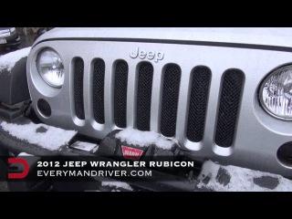 WayaLife 4x4 2013 Jeep Wrangler Unlimited Rubicon 4X4 Review on Everyman Driver