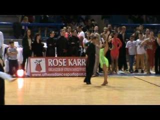 Athens Dance Sport Open 2010 Maxim Stadnik Karolina Kountoupidou Paso Doble