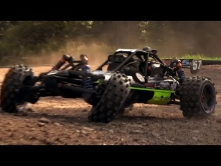 Bashing 1/5th Scale HPI Baja 5B with Hyper-Charger Air Filter
