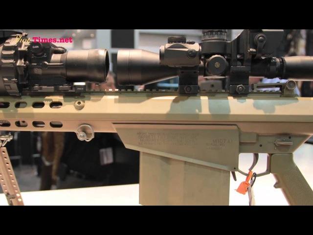 2011 Barrett M107A1 SASR Rifle with Suppressor