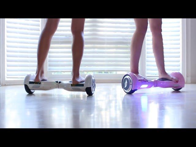 Ganja Girls Hoverboard AirBoards Hot Girls Part 1