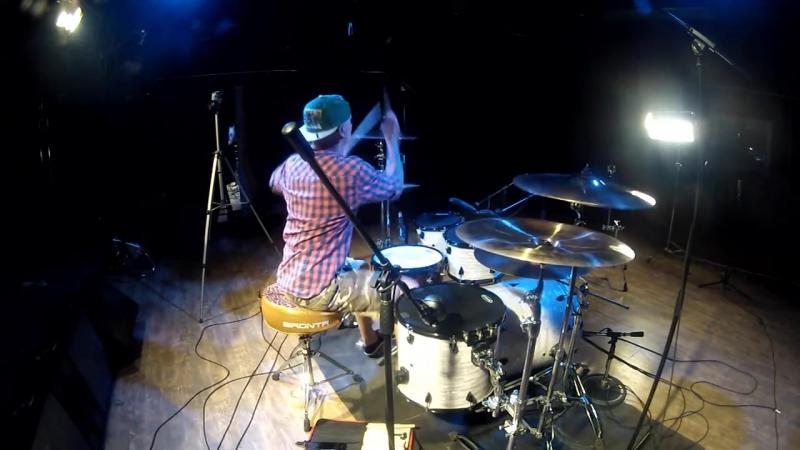 Billy Milligan Руки в потолок BRDNTR Drum Cover