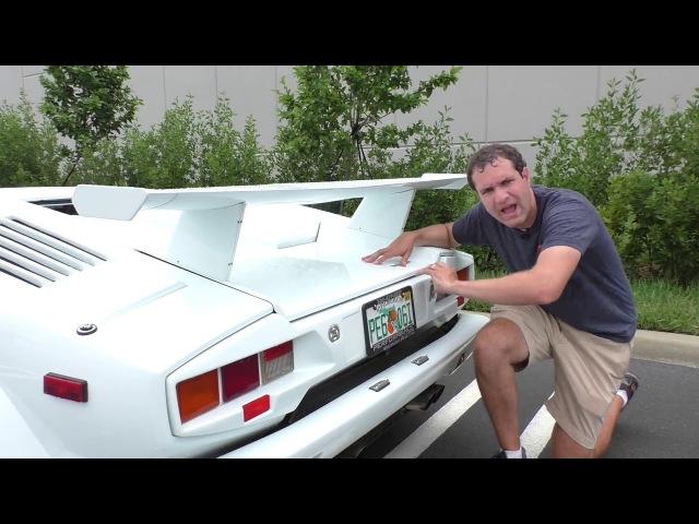 Вот почему Lamborghini Countach стоит $300 000