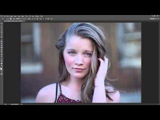 Natural Light Portrait - High Speed Retouch Photoshop CC 2015\\ло