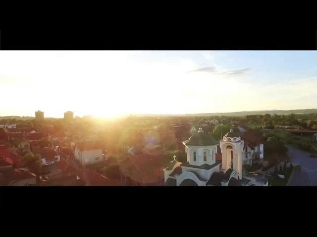 Snimanje iz vazduha Krusevac Pokrov Presvete Bogorodice