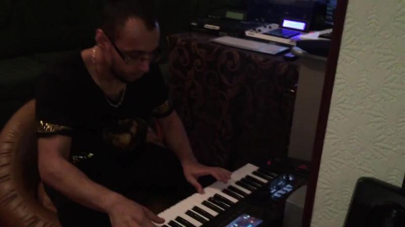 KRAZYAF импровизация БЕШЕНЫЙ ДЖАЗМЕН crazy jazzman crash test ROLAND FA06