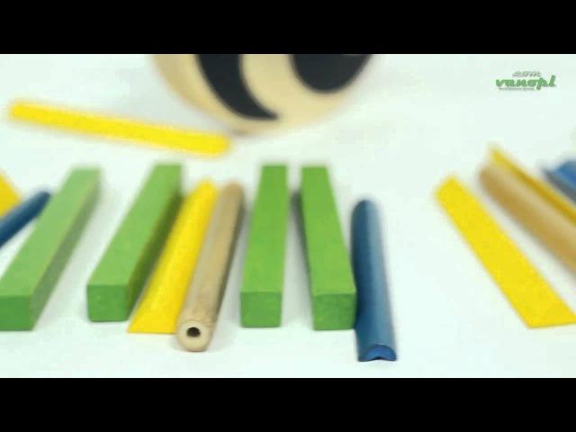 Деревянная игрушка головоломка балансир Pandabo Hape