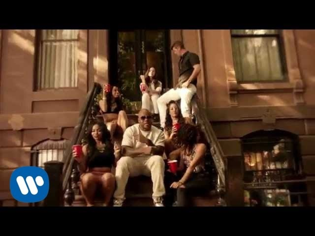 Flo Rida ft. Robin Thicke Verdine White - I Don't Like It, I Love It [Official Video]