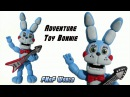 FNAF WORLD | Adventure Toy Bonnie Polymer Clay Tutorial | Porcelana Fría ★ Plastilina