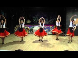 Арагонская хота (испанский танец). Ансамбль Юность