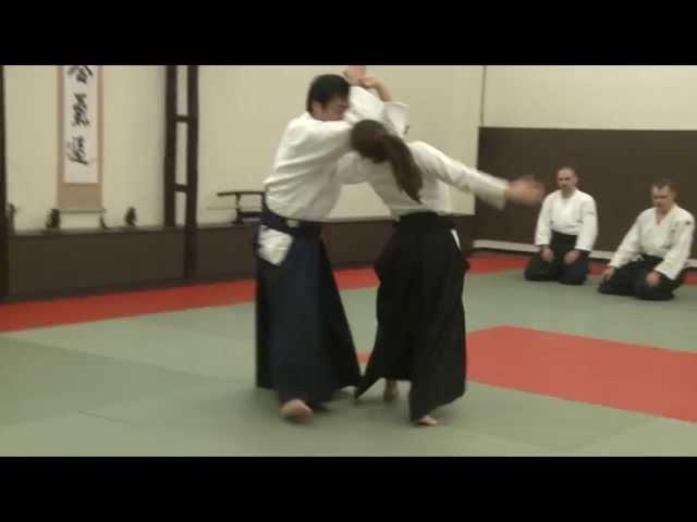 Yukimitsu Kobayashi Shihan - Seminar Aikido Aikikai - Cluj Napoca, Romania 2011
