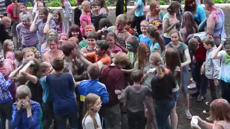 Flashmob — UpCamp. Summer 2014