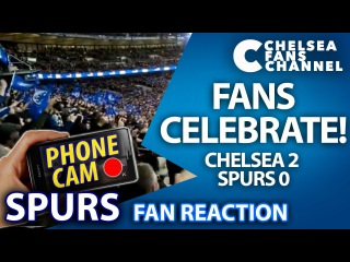 2-0 CHELSEA v SPURS Capital One Cup Final - Fan Reaction