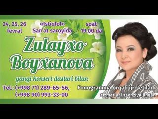 Zulayho Boyhonovaning yangi konsert dasturi 2014 1-qism