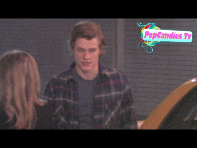 Lucas Till Kayslee Collins with Tony Oller @ Tru in Hollywood!