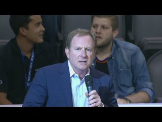 Robert Sarver Speaks To Suns Fans | Spurs vs Suns | October 16, 2014 | NBA Preseason 2014