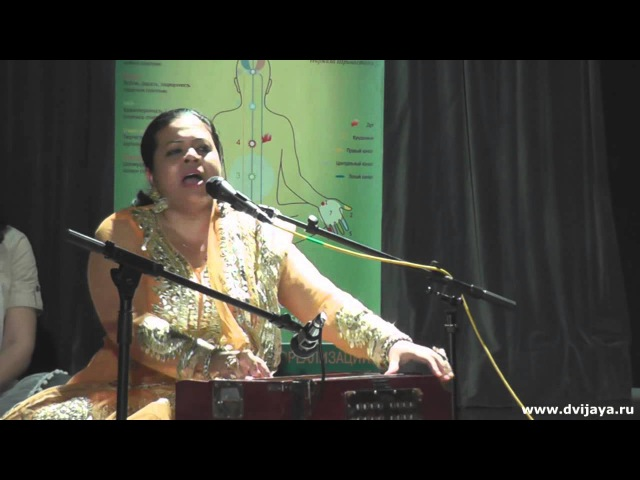 Qawwali Dum Must Kalander by Anandita Basu in Moscow Russia Каввали Дам Маст Каландер