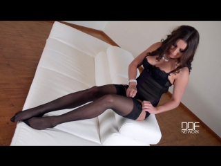 Ally_russian_nylon_stocking_girl_teases_with