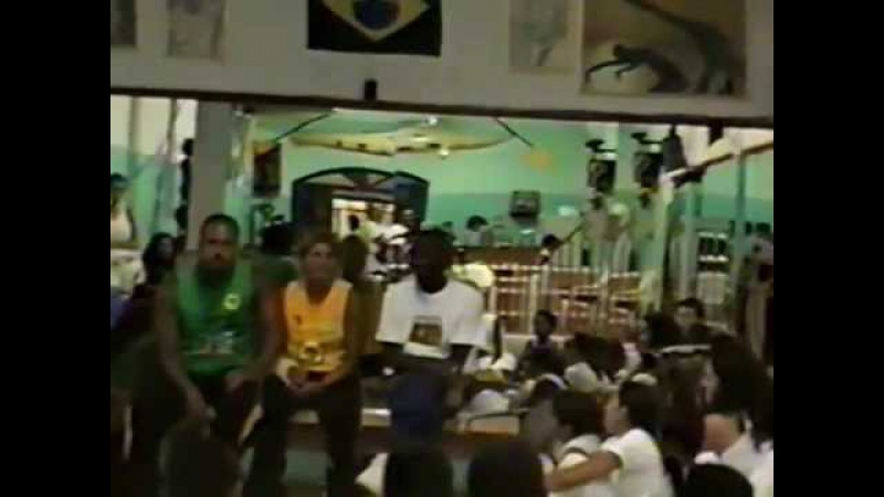 Mestre Gato Preto Doirado da Bahia Academia Energia Trovão e Bad 1ºBimestre 2001 02
