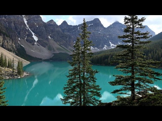 Lake Louise Moraine Lake Banff NP Canada in 4K Ultra HD